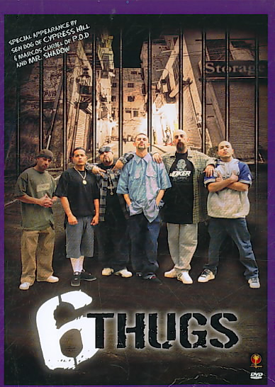 6 THUGS BY ZEPEDA,ROBERT (DVD)